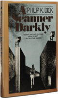 Books:First Editions, Philip K. Dick: A Scanner Darkly. (Garden City, NY:Doubleday & Company, Inc., 1977), first edition, 217 pages,dust jac...