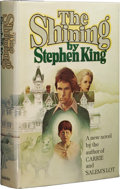 "Books:First Editions, Stephen King: The Shining. (Garden City, NY: Doubleday &Company, Inc., 1977), first edition (""R49"" on last page), 447 p..."