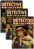 Pulps:Detective, Detective Tales Group (Popular Publications, 1941-51) Condition:Average VG.... (Total: 8)