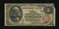 National Bank Notes:Missouri, Saint Louis, MO - $5 1882 Brown Back Fr. 474 The NB of Commerce Ch.# (M)4178. The color is exceptional for the grade. W...