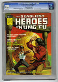 Magazines:Miscellaneous, The Deadliest Heroes of Kung Fu #1 (Marvel, 1975) CGC NM+ 9.6Off-white to white pages....