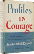 Autographs:U.S. Presidents, John F. Kennedy Signed: Profiles in Courage (New York: Harper & Brothers, 1956) first edition, xix, 266 pages, photograp...