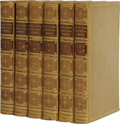Books:Non-American Editions, Beautiful Leather Bound Six Volume Set of the Poetical Works ofChaucer. (London: William Pickering, 1845), third edition, v...(Total: 6 )