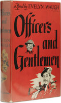 Books:First Editions, Evelyn Waugh: Officers and Gentlemen. (Boston: Little, Brownand Company, 1955), first American edition, 339 pages, ligh...