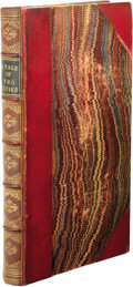 "Books:First Editions, Charles Dickens: A Tale of Two Cities. (London: Chapman andHall, 1859), first edition, mixed state, with uncorrected ""a..."