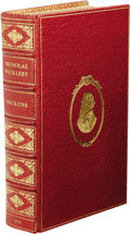 Books:First Editions, Charles Dickens: The Life and Adventures of NicholasNickleby. (London: Chapman and Hall, 1839), first edition,mixed st...