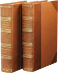 Books:First Editions, Winston Churchill: Lord Randolph Churchill. (London:Macmillan & Company, Ltd., 1906), first edition, two volumes,vI 56... (Total: 2 )