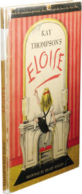 "Books:First Editions, Kay Thompson: Eloise. (New York: Simon and Schuster, 1955),first printing, first state, 65 pages, ""Lily Daché"" on page ..."
