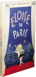 Books:First Editions, Kay Thompson: Eloise in Paris. (New York: Simon andSchuster, 1957), first printing, unpaginated, drawings by HilaryKni...