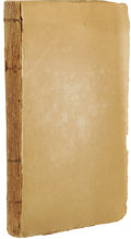 Books:First Editions, Albert Gallatin: A Sketch of the Finances of the UnitedStates. (New York: William A. Davis, 1796), first edition, 205p...