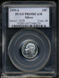 Proof Roosevelt Dimes: , 1999-S Silver PR 69 Deep Cameo PCGS. ...
