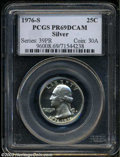 Proof Washington Quarters: , 1976-S Silver PR 69 Deep Cameo PCGS. ...