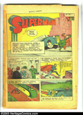 Golden Age (1938-1955):Superhero, Action Comics #4 (DC, 1938) Condition: coverless. Early Superman appearance; Siegel and Shuster art. Overstreet 2003 GD 2.0 ...