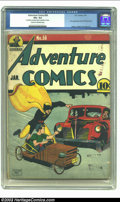 Golden Age (1938-1955):Superhero, Adventure Comics #58 (DC, 1941) CGC VG+ 4.5 Cream to Off-white pages. This is the first appearance of Paul Kirk Manhunter, a...