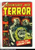 Golden Age (1938-1955):Horror, Adventures Into Terror #19 (Atlas, 1953) Condition: VG+. Coolpre-Code horror cover. These 1950s Horror books are very under...