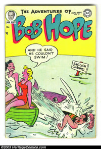 The Adventures of Bob Hope #22 (DC, 1953) Condition: FN-. Another fantastic 1950s DC. Overstreet 2003 FN 6.0 value = $54...