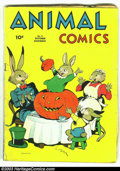 Golden Age (1938-1955):Funny Animal, Animal Comics #5 (Dell, 1943) Condition: GD/VG. Classic Pogo byWalt Kelly. Overstreet 2003 GD 2.0 value = $35; VG 4.0 value...