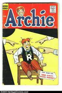 Archie Group (Archie, 1960-65) Condition: Average VG. This lot consists of issues #107, 139-141, 144, 146, 149-155, and...