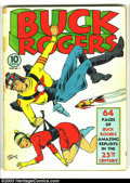 Golden Age (1938-1955):Science Fiction, Buck Rogers #2 (Eastern Color, 1941) Condition: VG-. Calkins cover.Tape on spine. Overstreet 2003 VG 4.0 value = $260. ...