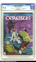 Bronze Age (1970-1979):Alternative/Underground, Cerebus #12 (Aardvark-Vanahem, 1979) CGC NM+ 9.6 Off-white to white pages. Second appearance of Cockroach. Elrod appearance....