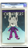 Modern Age (1980-Present):Superhero, Cerebus #22 (Aardvark-Vanahem, 1980) CGC NM 9.4 Off-white to white pages. Low distribution issue with no cover price. Overst...