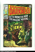 Bronze Age (1970-1979):Horror, Chamber of Darkness #4 (Marvel, 1970) Condition: FN/VF 7.0.Conan-esque tryout by Barry Smith. Overstreet 2003 FN 6.0 value ...
