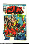 Bronze Age (1970-1979):Horror, Creatures on the Loose Group (Marvel, 1971-73) Condition: FN+. Thislot consists of six comic books. Issues #16-21. Overstre... (Total:6 Comic Books Item)