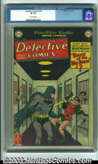 Detective Comics #169 (DC, 1951) CGC VF 8.0 Off-white pages. Beautiful, high-grade copy from a very difficult time perio...