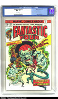 Bronze Age (1970-1979):Superhero, Fantastic Four #158 (Marvel, 1975) CGC NM+ 9.6 Off-white pages. Rich Buckler artwork. The CGC holder is cracked on the rear ...