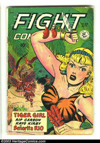 Fight Comics #58 (Fiction House, 1948) Condition: VG. Joe Doolin cover, with Matt Baker and Jack Kamen art. Overstreet 2...