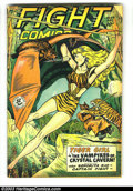 Golden Age (1938-1955):Adventure, Fight Comics #59 (Fiction House, 1948) Condition: GD/VG. Joe Doolin cover. Matt Baker and Jack Kamen art. Overstreet 2002 GD...