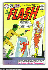 Flash #119 (DC, 1961) Condition: FN/VF. Versus the Mirror Master. Elongated Man marries Sue Dearborn. Carmine Infantino...