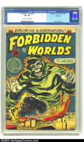 Golden Age (1938-1955):Horror, Forbidden Worlds #22 Big Apple pedigree (ACG, 1953) CGC VF+ 8.5Cream to off-white pages. Harry Lazarus art. Highest-graded ...