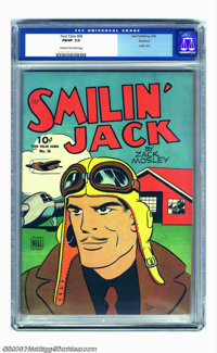 Four Color Comics #36 Smilin' Jack - Rockford pedigree (Dell, 1944) CGC FN/VF 7.0 Cream to off-white pages. This early i...