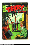 Golden Age (1938-1955):Adventure, Four Color #44 Terry and the Pirates (Dell, 1944) Condition: VG 3.0. Some pen on cover. Overstreet 2003 GD 2.0 value = $40; ...