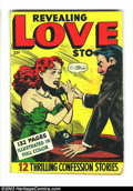 Golden Age (1938-1955):Romance, Fox Giants Revealing Love Stories (Fox Features Syndicate, 1950)Condition: GD/VG 3.0. Four rebound lurid Fox romance books....