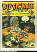 Golden Age (1938-1955):Funny Animal, Fox Giants Ribtickler (Fox Features Syndicate, 1945) Condition: GD+2.5. Huge .50 funny animal giant. Overstreet 2003 GD 2.0...