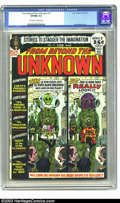Bronze Age (1970-1979):Science Fiction, From Beyond the Unknown #13 (DC, 1971) CGC VF/NM 9.0 Off-white towhite pages. Joe Kubert cover. Highest graded copy yet cer...