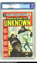 Bronze Age (1970-1979):Science Fiction, From Beyond the Unknown #14 (DC, 1972) CGC VF/NM 9.0 Off-whitepages. Joe Kubert cover. Only two copies of this issue have e...