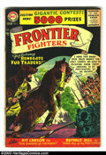 Silver Age (1956-1969):Adventure, Frontier Fighters #6-8 Group (DC, 1956) Condition: Average GD/VG 3.0. This group consists of issues #6-8. Issue #8 has a loo...
