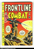 "Golden Age (1938-1955):War, Frontline Combat #4 (EC, 1952) Condition: VG. Harvey Kurtzman cover and art. Contains the story ""Airburst"" by Kurtzman, whic..."