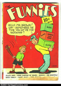 Golden Age (1938-1955):Humor, Funnies #32 (Dell, 1939) Condition: GD. John Carter of Mars, Alley Oop, Dick Tracy, Captain Easy, many others. Overstreet 20...