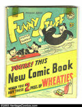 "Golden Age (1938-1955):Funny Animal, Funny Stuff Wheaties Giveaway (DC, 1946) Condition: GD 2.0. Neverfound better than FN. Listed as ""Scarce"" in Overstreet..."