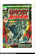 Bronze Age (1970-1979):Western, Ghost Rider Group (Marvel, 1973-74) Condition: Average VF-. This lot consists of eight comic books. Issue #1 is GD- and seco... (Total: 8 Comic Books Item)