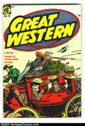Golden Age (1938-1955):Horror, Great Western Group (Magazine Enterprises, 1954) . This lotconsists of issues #10 and 11, both in VG+. Calico Kid by Guardi...