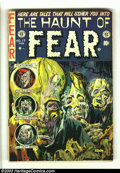 "Golden Age (1938-1955):Horror, The Haunt of Fear #17 (EC, 1953) Condition: VG-. Classic cover artby ""Ghastly"" Graham Ingels. Jack Davis, George Evans and ..."