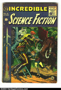 Golden Age (1938-1955):Science Fiction, Incredible Science Fiction #31 and 32 Group (EC, 1955) Condition:Average GD+ 2.5. This group contains issues #31 and 32. Ap...(Total: 2 Comic Books Item)