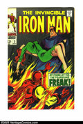 Silver Age (1956-1969):Superhero, Iron Man #3 (Marvel, 1968) Condition: VF 8.0. Overstreet 2003 VF 8.0 value = $59. From the White Rose Collection ...