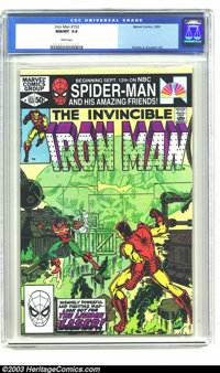 Iron Man #153 (Marvel, 1981) CGC NM/MT 9.8 White pages. John Romita Jr. and Bob Layton art. Tied with two other copies f...