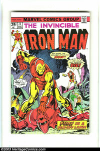 Iron Man Group (Marvel, 1974-77) Condition: Average NM-. This group consists of issues #73, 81-83, 88, and 100. Jim Star...